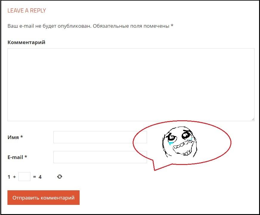 Удалить поле Сайт из комментариев WordPress