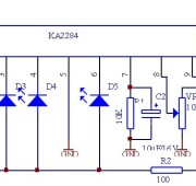 Индикатор громкости на KA2284